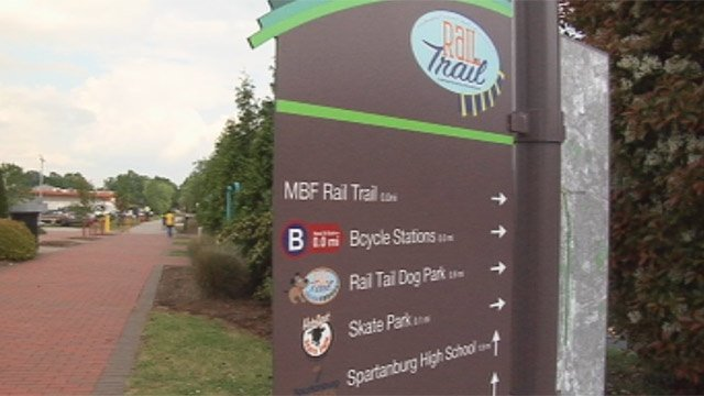 Police say the woman was flashed while walking along the Mary Black Rail Trail. (File/FOX Carolina)