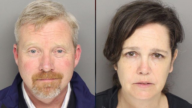Brian and Kelly McSharry (Source: Greenville Co. Sheriff's Office)