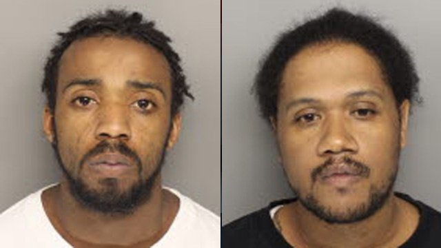 Quadivine Gary (left) and Timothy McClellan (Source: Greenville Co. Sheriff's Office)