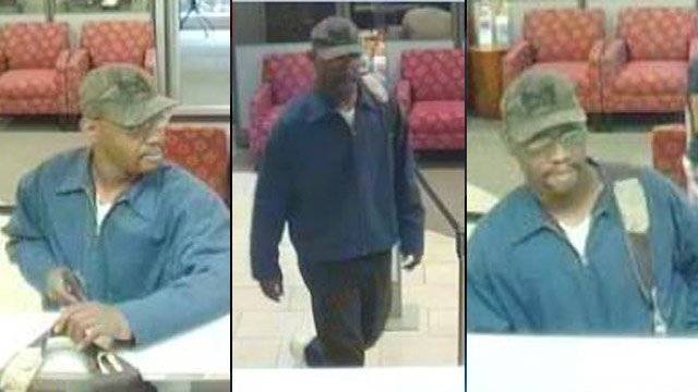 Deputies say this man held up the Wells Fargo on W. Parker Rd. (May 1, 2013/Greenville Co. Sheriff's Office)