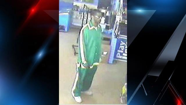 Deputies are looking for this man as a person of interest in the robbery. (Source: Anderson Co. Sheriff's Office)