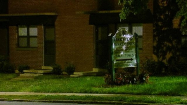 Spartanburg police say the shooting happened outside of Oakview Apartments. (May 9, 2013/FOX Carolina)