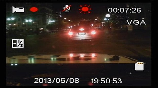 Video streams from a personal dash cam as FOX Carolina reporter drives through downtown Greenville. (File/FOX Carolina)