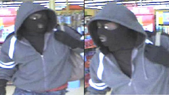 Deputies say this man robbed the Family Dollar on Augusta Road Tuesday. (May 14, 2013/Greenville Co. Sheriff's Office)