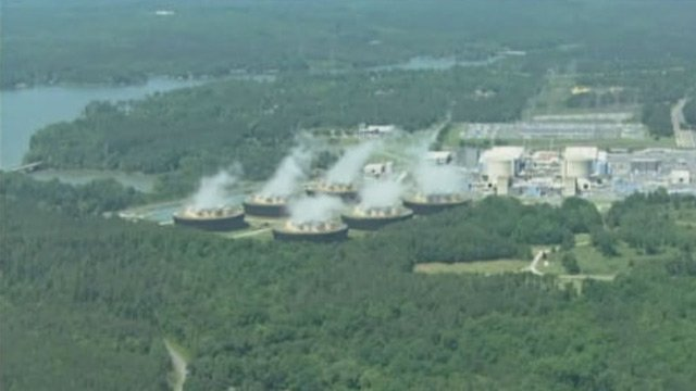 An aerial look at Catawba Nuclear Station. (Source: WBTV)