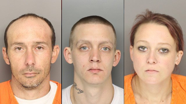 Jeremy Ginn, Eric Haggstrom and Candice White (Source: Greenville Co. Sheriff's Office)