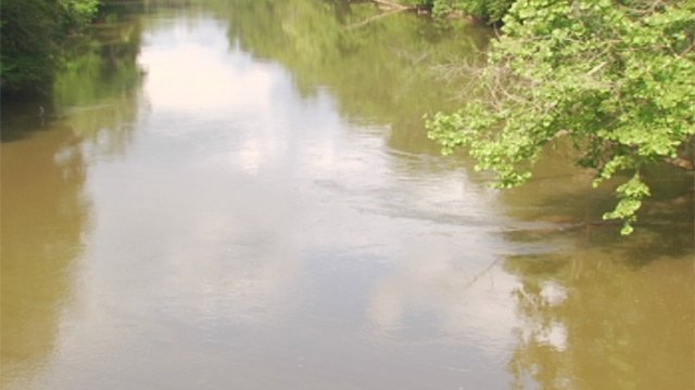 Deputies said they rescued the woman from the Saluda River in Piedmont. (May 18, 2013/FOX Carolina)