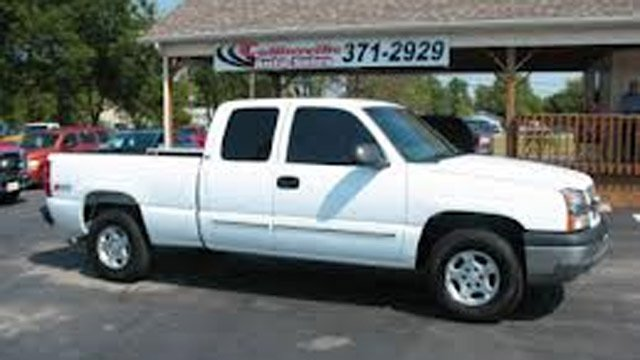 The type of truck deputies say Glisson was last seen driving. (Source: Buncombe Co. Sheriff's Office)