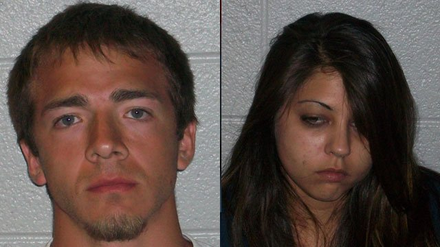 Nicholas and Taylor Jackson (Source: Henderson Co. Sheriff's Office)