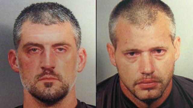 Dennis and Jeremy Penland. (Source: Simpsonville Police Dept.)