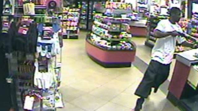 Police are looking for this man they said robbed the QT. (Source: Spartanburg Public Safety Dept.)