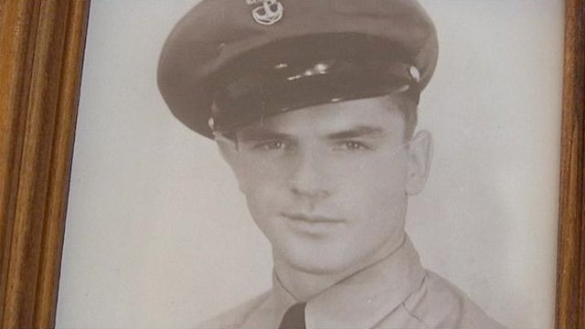 A photo of Craig Kirkpatrick Sr. from his early days in the service. (Source: Craig Kirkpatrick Sr.)