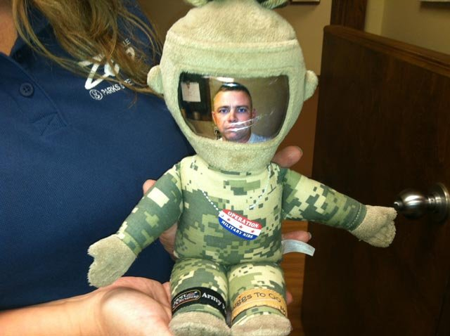 The doll found in the Greenville Zoo's gift shop. (June 18, 2013/FOX Carolina)