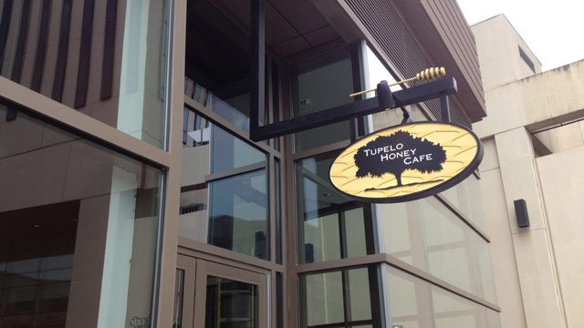 Tupelo Honey Cafe is located in the ONE building on North Main Street in Greenville. (June, 18, 2013/FOX Carolina))