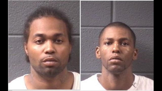 James Griffin (left) and Robert Boseman (right).  (Source: Asheville Police Dept.)