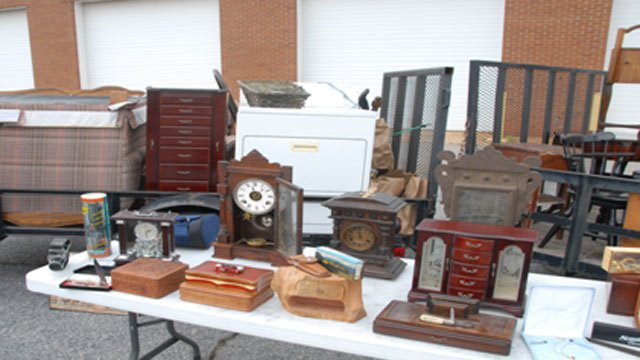 Some of the property Anderson Co. detectives discovered. (Source: Chris Wilson/Anderson Co. Sheriff's Office)