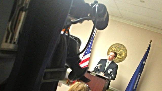 Solicitor Walt Wilkins talks about the Brown Street shooting case. (July 2, 2013/FOX Carolina)