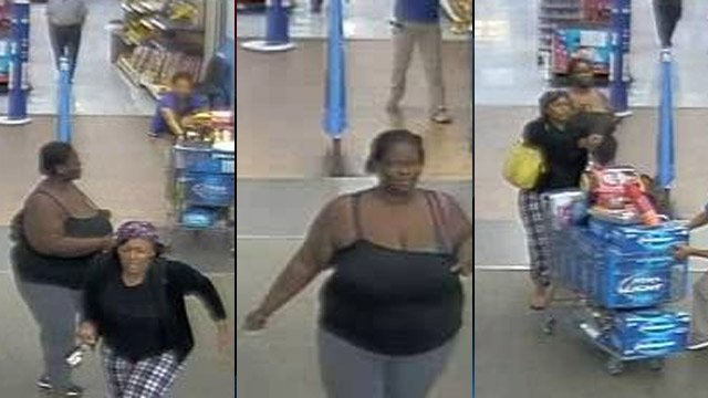 Gaffney police are looking to identify these 2 women they say tried to shoplift on Wednesday. (Source: Gaffney Police Dept. Facebook)