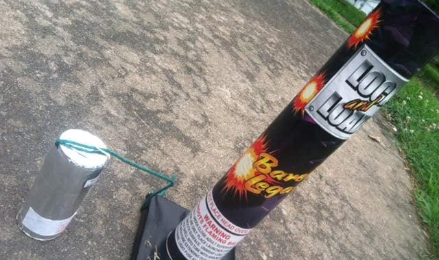 Model of fireworks used by Smith (FOX Carolina)