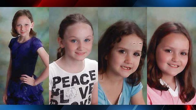 (from left to right) Lillian, Carolina, Emily and Minnie (Oconee Co. Sheriff's Office)
