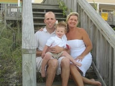 Photo of the Halstead family from Sunshine on a Ranney Day.