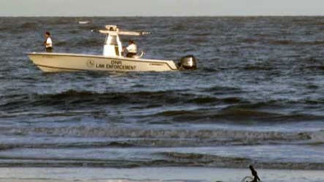 Law enforcement searching for victims off Hunting Island (Source: WTOC)