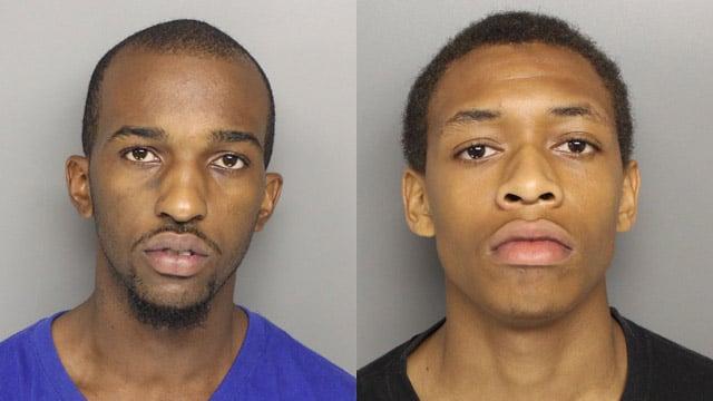 Elex Gregory (left) and Dezmund Cohen. (Source: Greer Police Dept.)