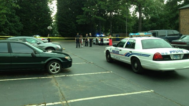 Scene of the shooting in Greenville (Source: FOX Carolina)
