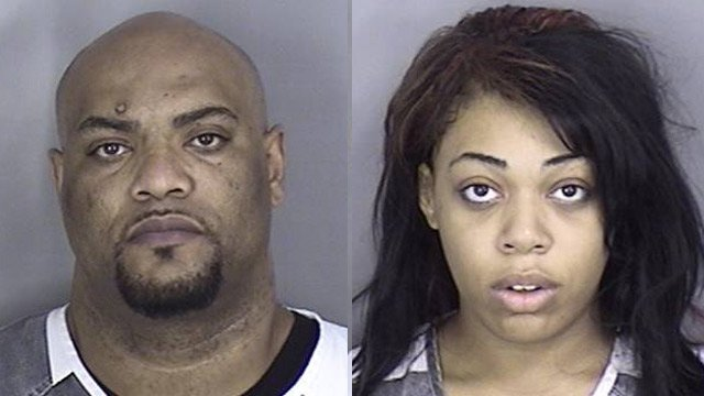 Jermaine Williams and Veronica Melvin (Source: Hoover, AL Police Dept.)