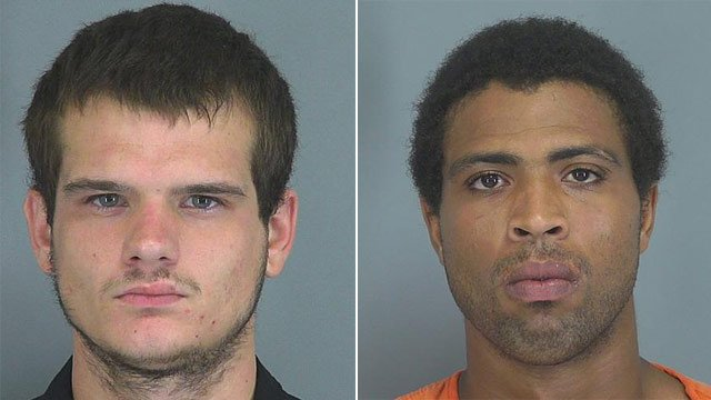 Brandon Caldwell (L) and Rashad Thompson. (Source: Spartanburg Co. Detention Center)