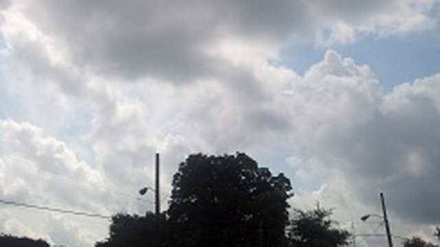 More clouds & rain ahead! (Source: iWitness Lindsay H.)