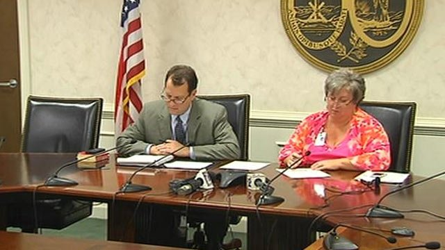 The DHEC Board of Directors held a conference call Wednesday about Dir. Catherine Templeton and the TB outbreak. (Aug. 14, 2013/FOX Carolina)