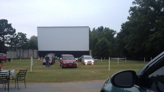 The drive-in in Greenwood. (Aug. 16, 2013/FOX Carolina)