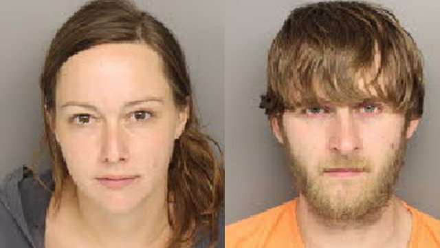 Paige Holly and Jason Duckett (Source: Travelers Rest PD)