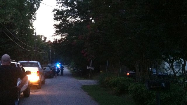 Scene near where the incident happened. (Aug. 20, 2013/FOX Carolina)