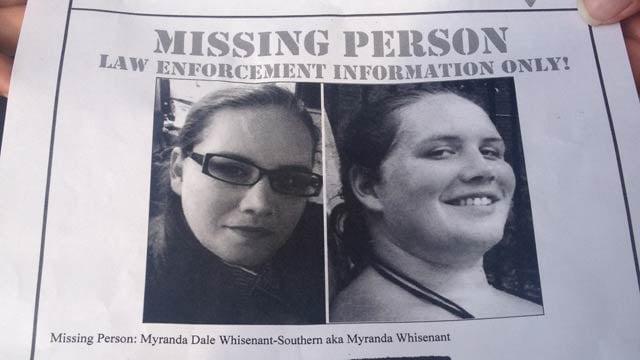 Missing poster for Myranda Southern. (Aug. 23, 2013/FOX Carolina)