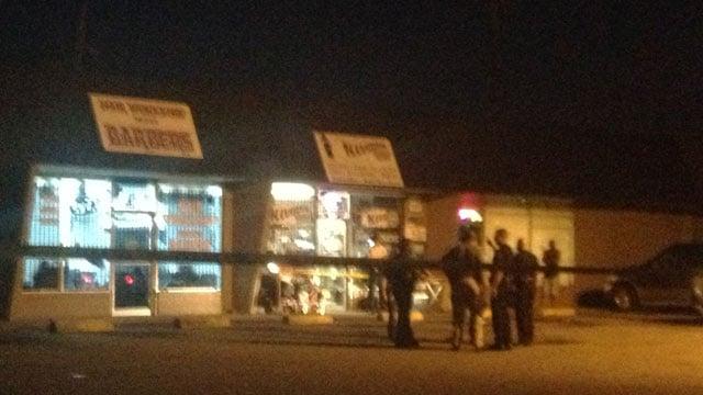 Illusions Smoke Shop after the incident. (Aug. 30, 2013/FOX Carolina)
