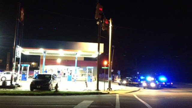 Deputies respond to the Lucky Mart. (Sept. 4, 2013/FOX Carolina)