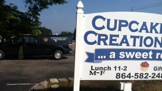 Cupcake Creations was burglarized and vandalized on Sunday. (Source: FOX Carolina Sept. 9, 2013)