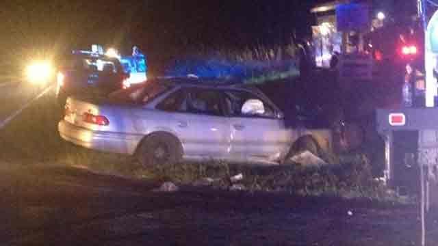 Scene of the accident. (Sept. 10, 2013/FOX Carolina)