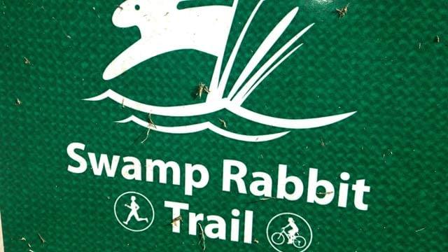 The Swamp Rabbit Trail runs through downtown Greenville. (File/FOX Carolina)