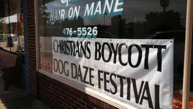 Christians Boycott Dog Daze Festival (FOX Carolina)