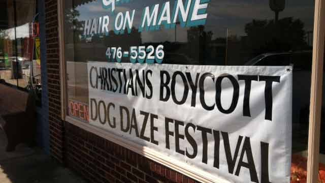 Christians Boycott Dog Daze Festival (FOX Carolina)