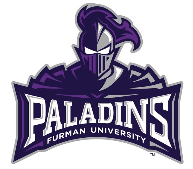 The new Paladin logo. (Source: Furman University)