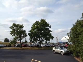 A mix of clouds and sun at Fox Carolina