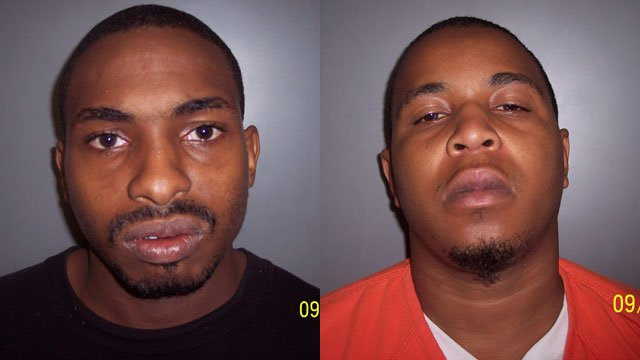 Hakeem Evans (L) and Dondrell Stevenson (Source: Laurens Co. Sheriff's Office)