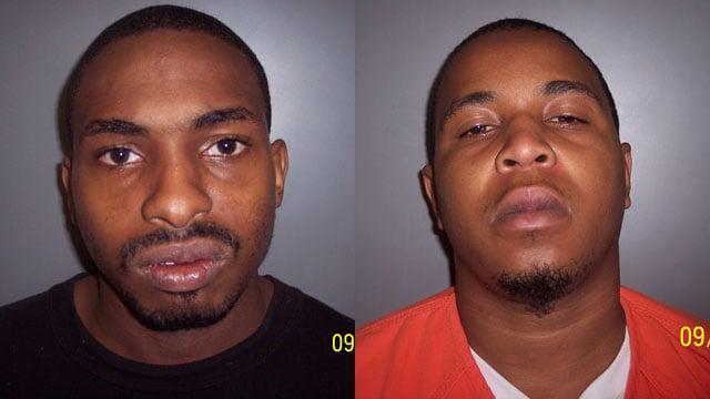 Hakeem Evans (L) and Dondrell Stevenson (Source: Laurens Co. Sheriff's Office)