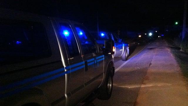 Troopers investigate a fatal wreck along Staunton Bridge Road. (Sept. 20, 2013/FOX Carolina)