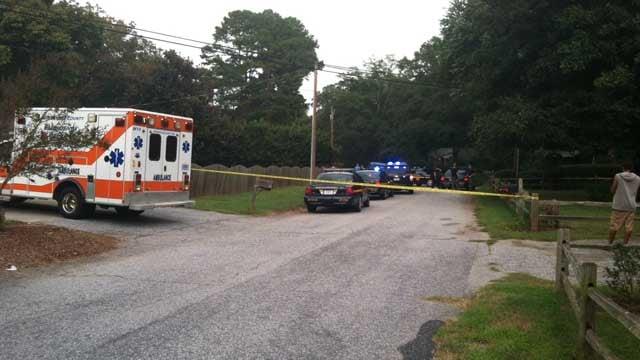 The scene of the incident. (Sept. 11, 2013/FOX Carolina)