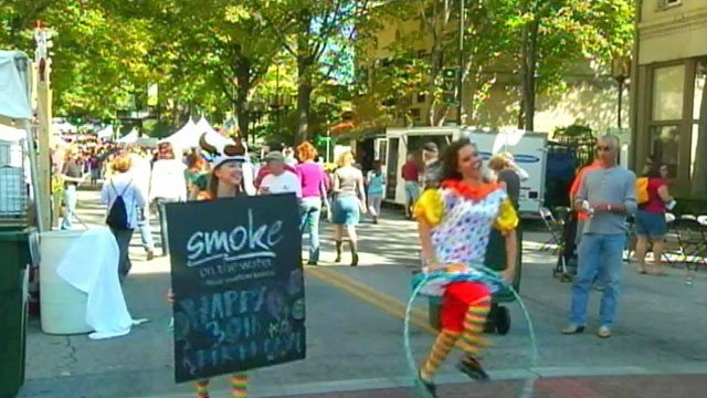 Thousands attended the three-day festival that offered delicious food, drinks, and live music for everyone. (File/FOX Carolina)